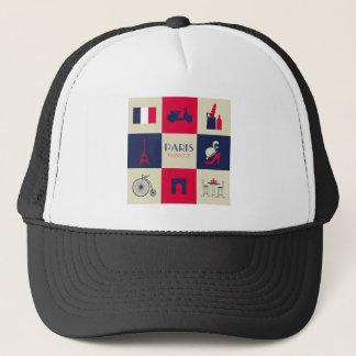 City Of Paris Trucker Hat