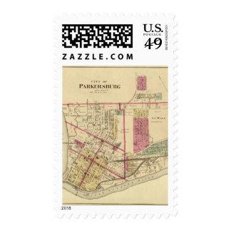 City of Parkersburg, West Virginia Stamp