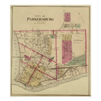 City of Parkersburg, West Virginia Poster