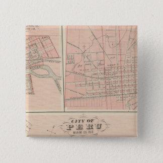 City of Peru, Miami Co Button