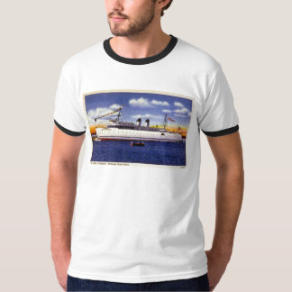 City of Petoskey, Michigan State Ferry T-Shirt