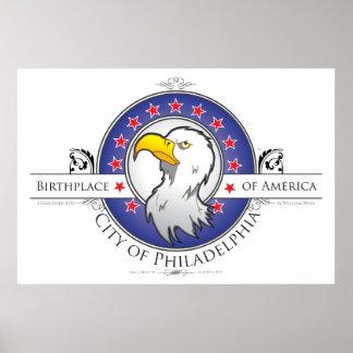 City of Philadelphia Poster