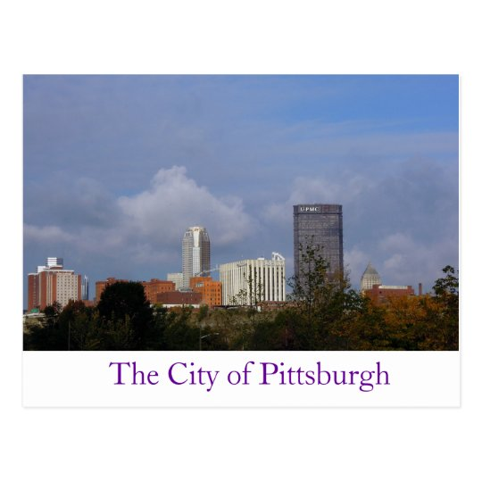 City of Pittsburgh Postcard
