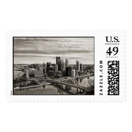 City of Pittsburgh USA Forever Postage Stamp