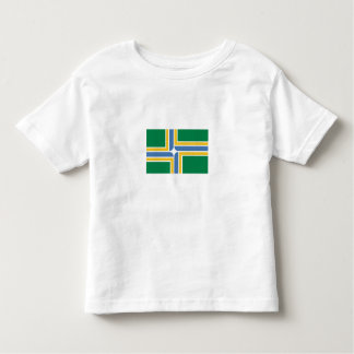 City of Portland Flag Toddler T-shirt