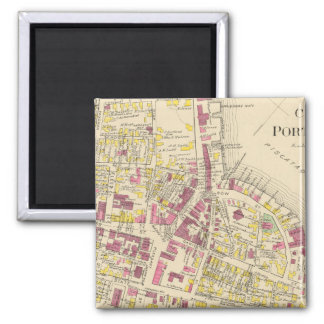 City of Portsmouth 3 2 Inch Square Magnet