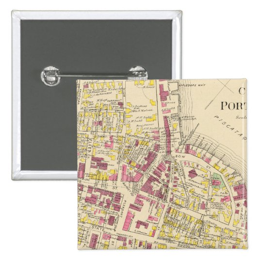 City of Portsmouth 3 Pinback Button
