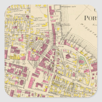 City of Portsmouth 3 Square Sticker