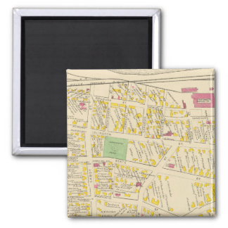 City of Portsmouth 2 Inch Square Magnet