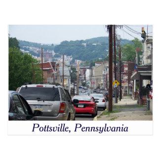 City of Pottsville, Pennsylvania Post Card