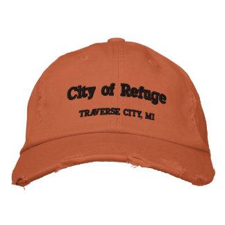 CIty of Refuge Traverse City, MI Embroidered Baseball Cap