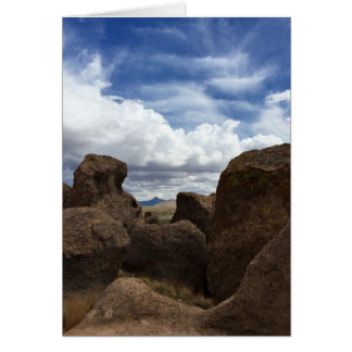 City of Rocks in Deming, NM Card