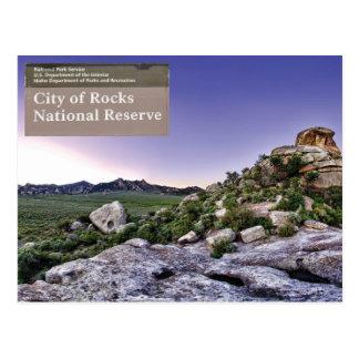 City of Rocks National Preserve - Idaho Postcard