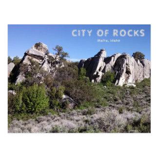 City of Rocks National Preserve Post Card