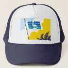 City of Saint Petersburg Florida Flag Trucker Hat