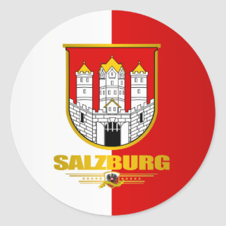 City of Salzburg Classic Round Sticker