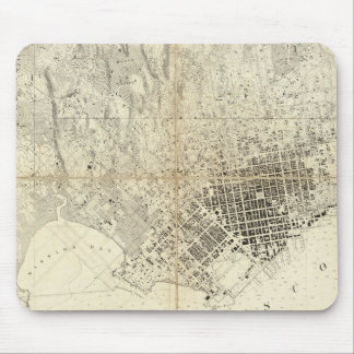 City Of San Francisco And Its Vicinity, California Mouse Pads