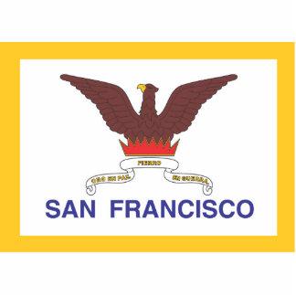 City of San Francisco flag Cutout