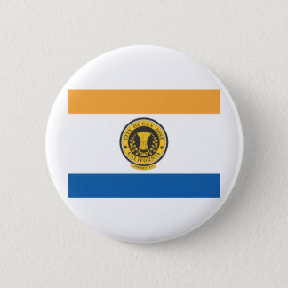 City of San Jose flag Pinback Button