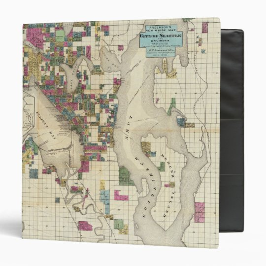 City Of Seattle And Environs Binder