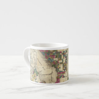 City Of Seattle And Environs Espresso Cup