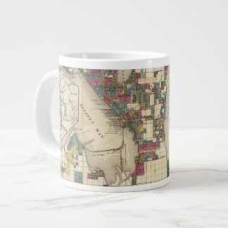 City Of Seattle And Environs Giant Coffee Mug