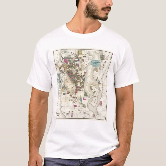 City Of Seattle And Environs T-Shirt
