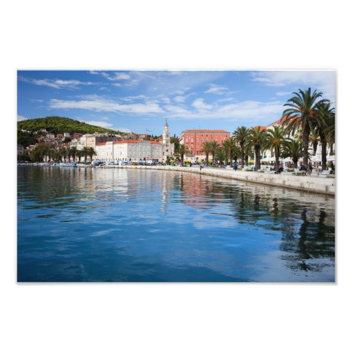 City of Split in Croatia Photo Print