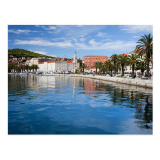City of Split in Croatia Postcard