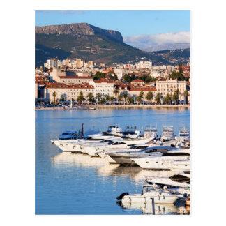 City of Split in Croatia Postcard