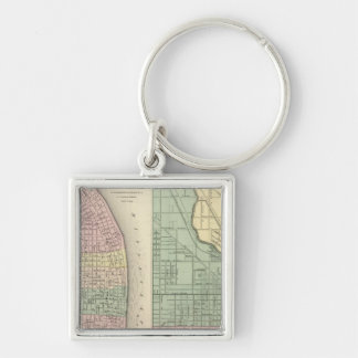 City of St Louis, Missouri City of Chicago Keychains