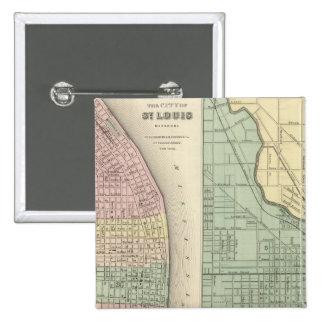 City of St Louis, Missouri City of Chicago Pinback Button