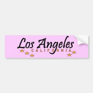 City of Stars Los Angeles Bumper Sticker