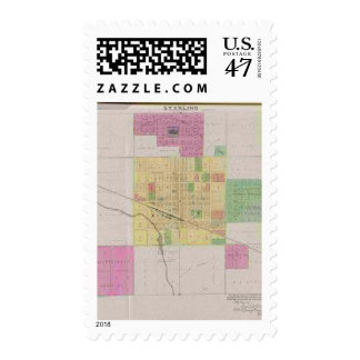 City of Sterling, Rice County, Kansas Postage