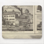 City of Storm Lake brewery, Muscatine bldg Mouse Pad
