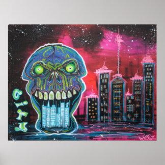 City of Strange Poster