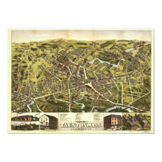 City of Tauton Massachusetts (1875) Card