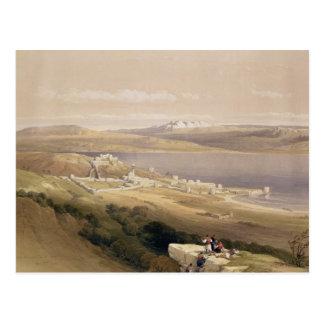 City of Tiberias on the Sea of Galilee Postcard