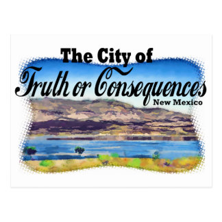 City of Truth or Consequences Postcard