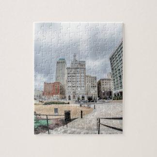 City of Tulsa Oklahoma Jigsaw Puzzle