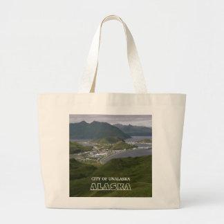 City of Unalaska, Alaska Tote Bags