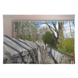 City of York, city walls. Cloth Placemat