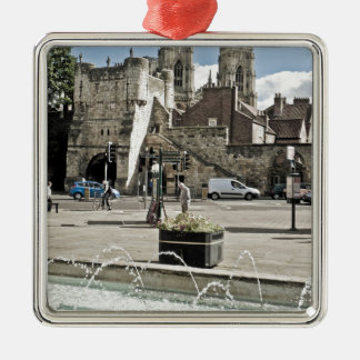 City of York Exhibition Square with the minster Metal Ornament