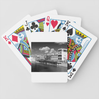City of York River Ouse vies riverscape. Bicycle Playing Cards