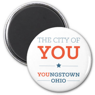 City of You Round Magnet