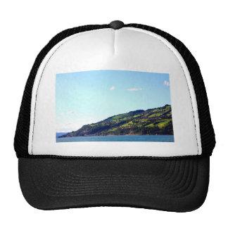 City on Hill overlooking Interlaken Lake Trucker Hat