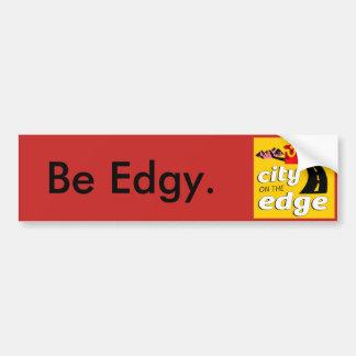 City on the Edge Bumper Sticker