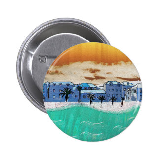 City on the sea Supetar Pinback Button