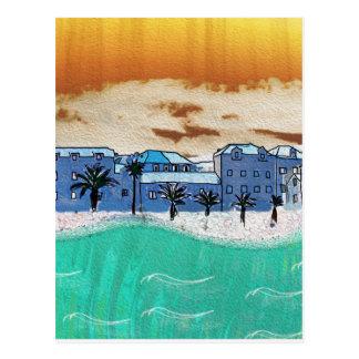 City on the sea Supetar Postcard