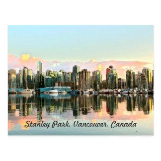 City on Water Postcard